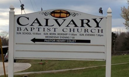 Calvary Baptist Church in Cowpens South Carolina