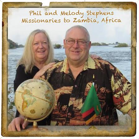 Stephens Family Missionaries to Zambia